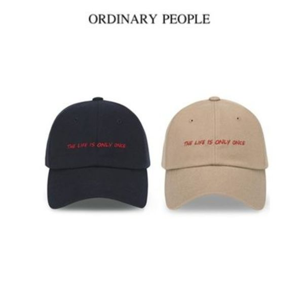 (ORDINARY PEOPLE正規品) ORDINARY ONLY ONCE WOOL CAP 2色