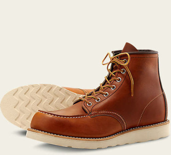 RED WING MOC TOE STYLE NO. 875