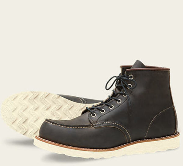 RED WING MOC TOE STYLE NO. 8890