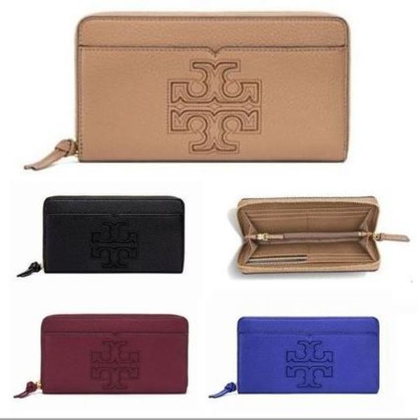 最新作★セール国内発Tory Burch HARPER ZIP CONTINENTAL 長財布
