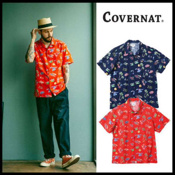 ★日本未入荷★「2017SS] COVERNATーALOHA SHIRTS*2COLOR