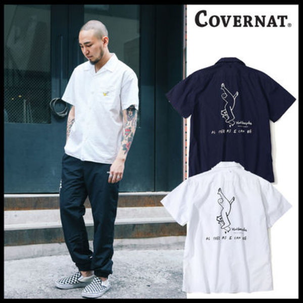 ★日本未入荷★[2017SS] COVERNAT X MARKGONZALES ARTWORK Shirt