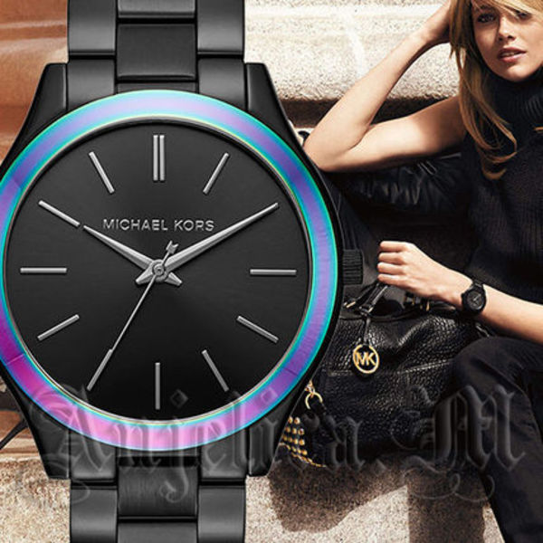 【安心ヤマト便】Michael Kors Slim Runway BlackWatch MK3603