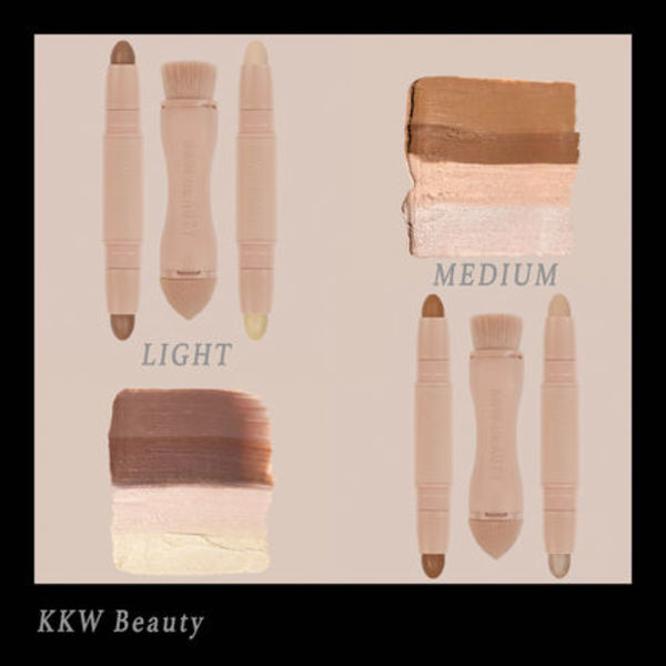 入手困難☆KKW Beauty creme contour and highlight キット