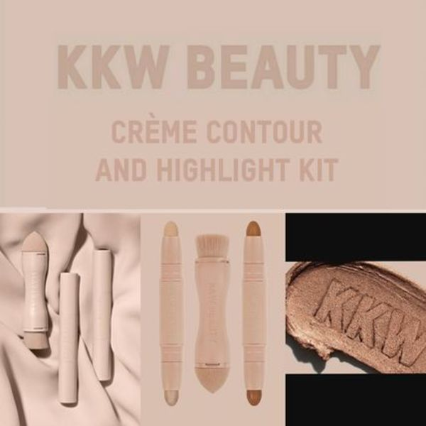 発売即日完売!KKW BEAUTY  cream contour and Highlight キット