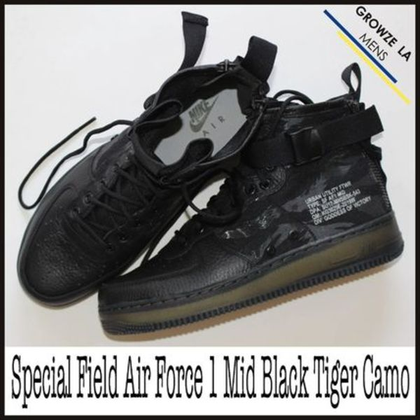 ★【NIKE】ナイキ Special Field Air Force 1 Mid Black Camo