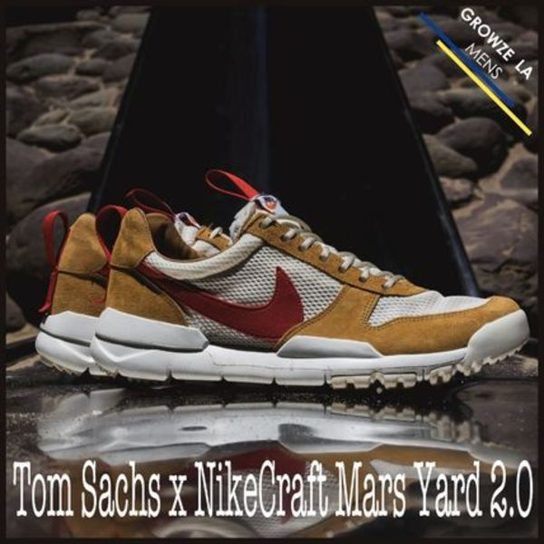 ★【NIKE】入手困難ナイキ Tom Sachs x NikeCraft Mars Yard 2.0