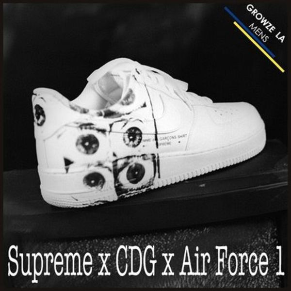 ★【Supreme】入手困難 Supreme x CDG x Nike Air Force 1