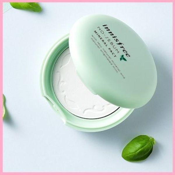 innisfree◆No sebum mineral pact◆テカリ防止パウダー パクト