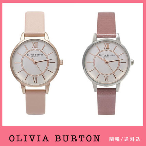 送関込【Olivia Burton】Wonderland,Dusty Pinkl/Rose♪2色/国発