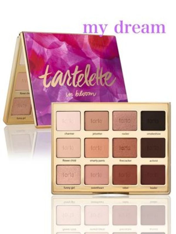 NEW☆tarte☆アマゾンクレー配合 bloom clay palette【12色入】