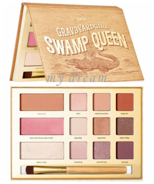 限定☆tarte☆アマゾンクレイ♪Swamp Queen eye & cheek palette