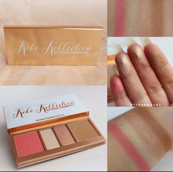 新作 Kylie cosmetics ★Koko Kollection フェイスパレット