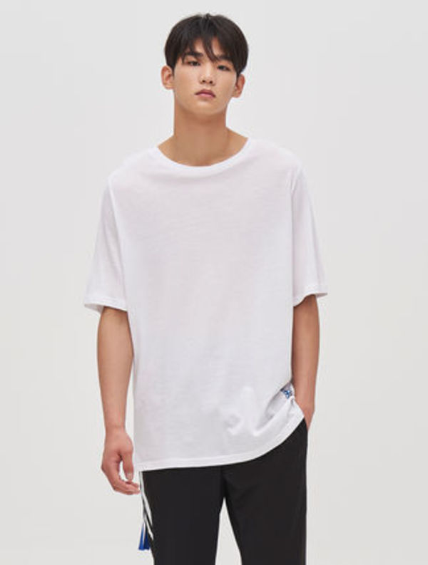 【8 X GD's PICK 】Zipper Pocket Half Sleeve T-Shirt / 3color