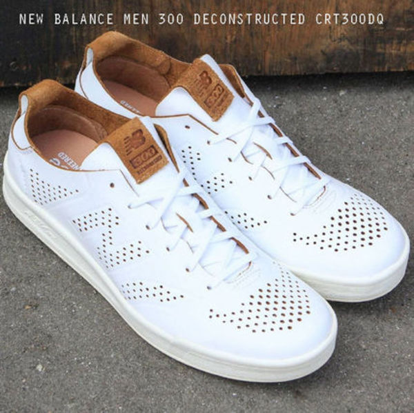 NEW BALANCE 300 DECONSTRUCTED CRT300DQ ホワイト レザー