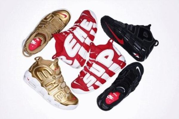 Supreme Nike Air More Uptempo