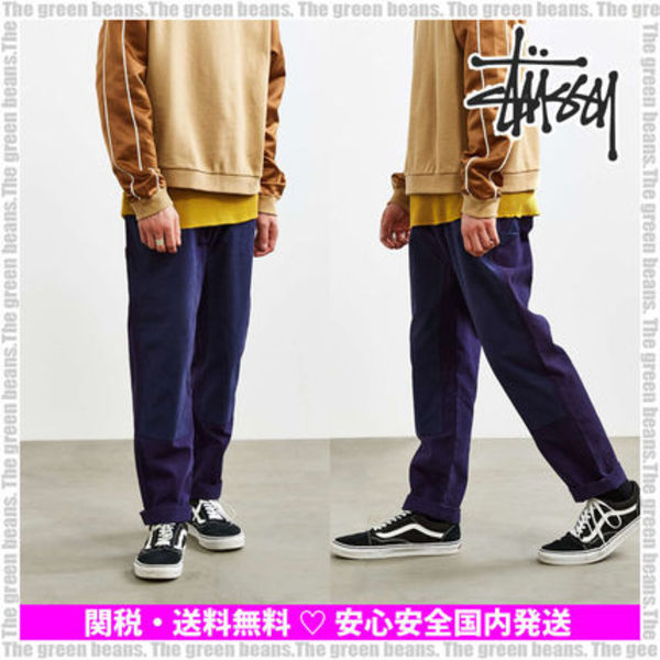 【Stussy】Contrast Work Pant ワークパンツ