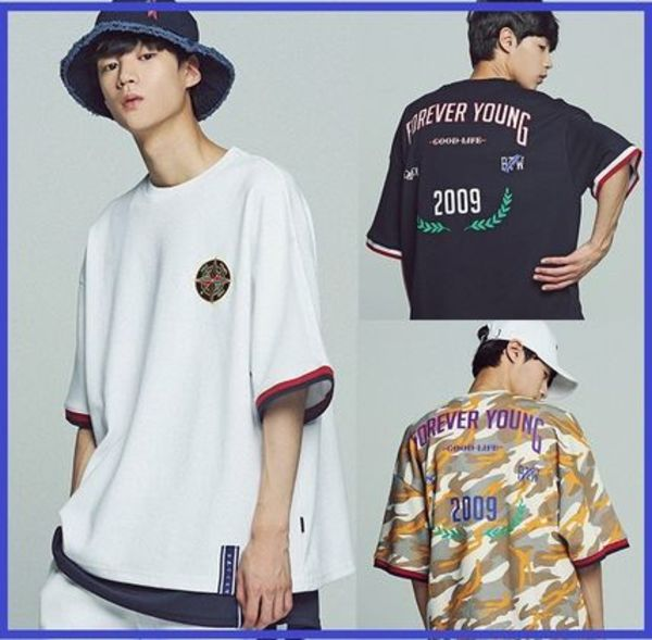 ROMANTIC CROWN★UNISEX Forever Young Tシャツ/安心追跡付