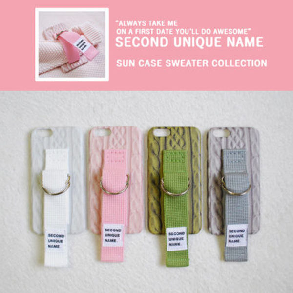 【SECOND UNIQUE NAME】SWEATER COLLECTION 4色 / iPhone 5,6,7