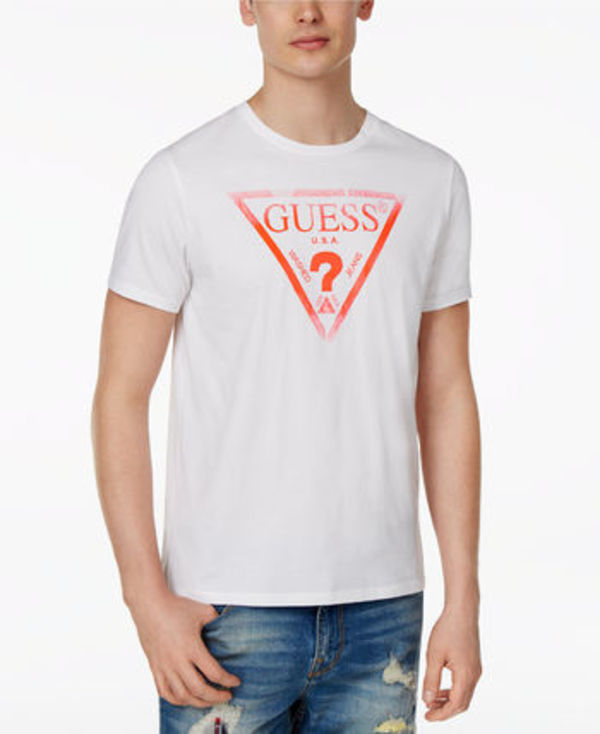 GUESS Liner Logo Cotton T-Shirt