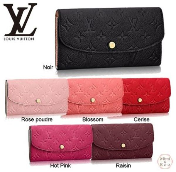Louis Vuitton☆モノグラム☆PORTEFEUILLE EMILIE*長財布