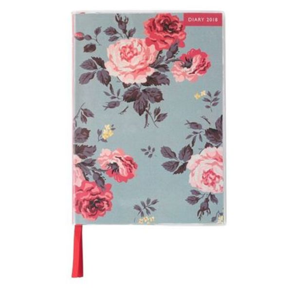 [Cath Kidston] 【2018年】ANTIQUE ROSE DIARY 【カレンダー】