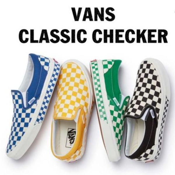 日本未入荷☆VANS SLIP-ON NEXTOR CHECKERBOARD(22-28cm) 4色