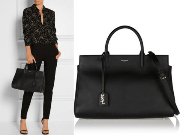 15AW WSL592 SAINT LAURENT MEDIUM CABAS RIVE GAUCHE