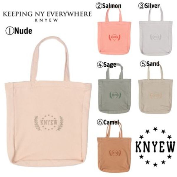 【KNYEW】☆16SS新作☆海外限定☆大人気☆MUTED SUMMER TOTE BAG