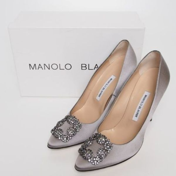 【30%OFF】17SS★MANOLO BLAHNIK★Hangisi pumps[RESALE]