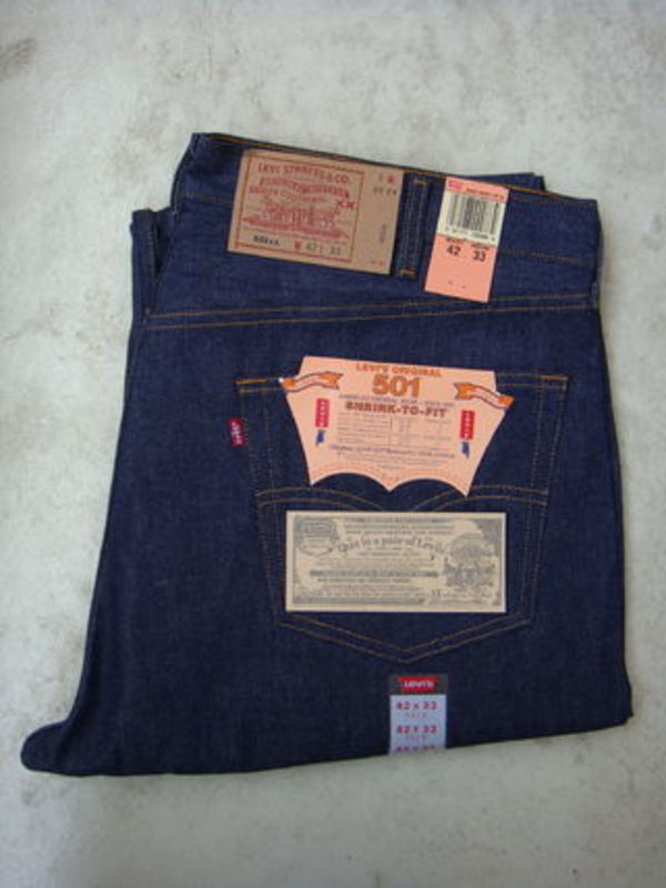 LEVIS(リーバイス) 501生デニム W42 L33MADE IN USA