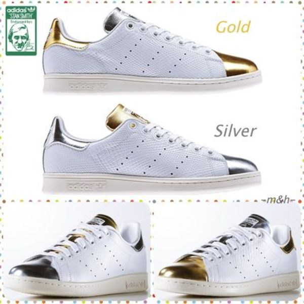 adidas Originals Stan Smith★GoldとSilver 残りわずか