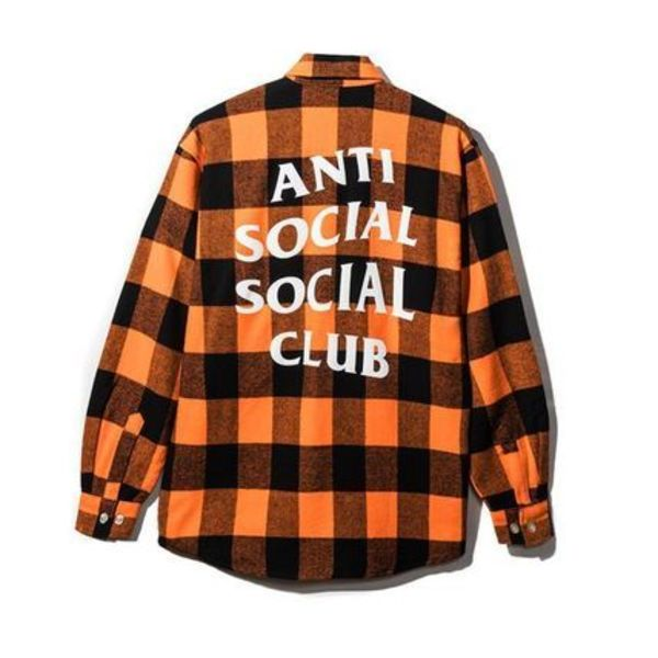 AntiSocialSocialClub SEE YOU LATER FLANNEL