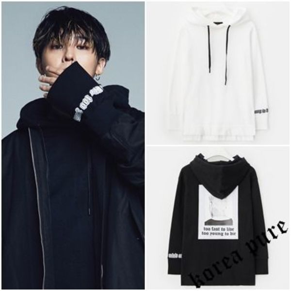 【8 X G-Dragon】Back Print Hoodie_GD Collaboration / Unisex