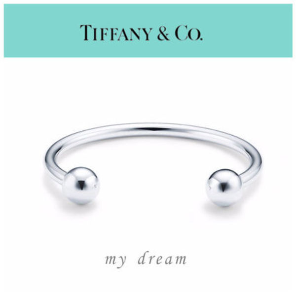 日本未入荷【Tiffany & Co】 HardWear Ball Wire Bracelet