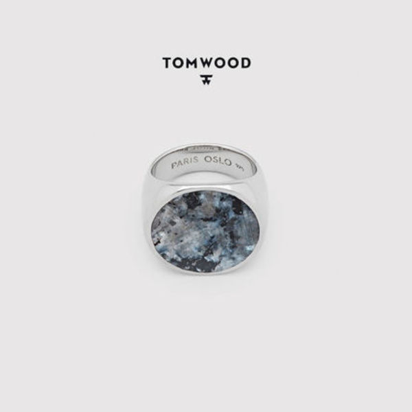 ≪関税送料込≫TOMWOOD Flush Larvikite Circle リング UNISEX