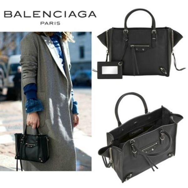 ∞∞BALENCIAGA∞∞ ミニ Paper A4 Zip Aroundバッグ☆