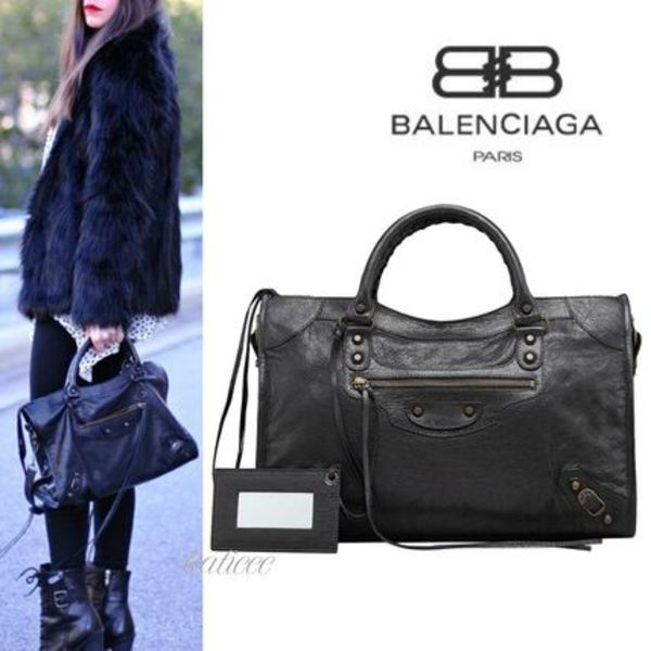 ∞∞BALENCIAGA∞∞ Classic City 2WAYバッグ☆ブラック