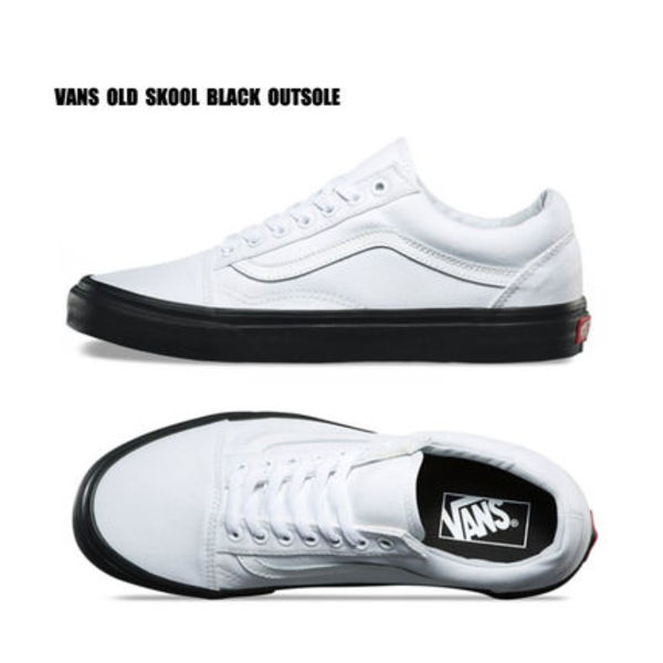 VANS★OLD SKOOL★BLACK OUTSOLE★25.5~29cm