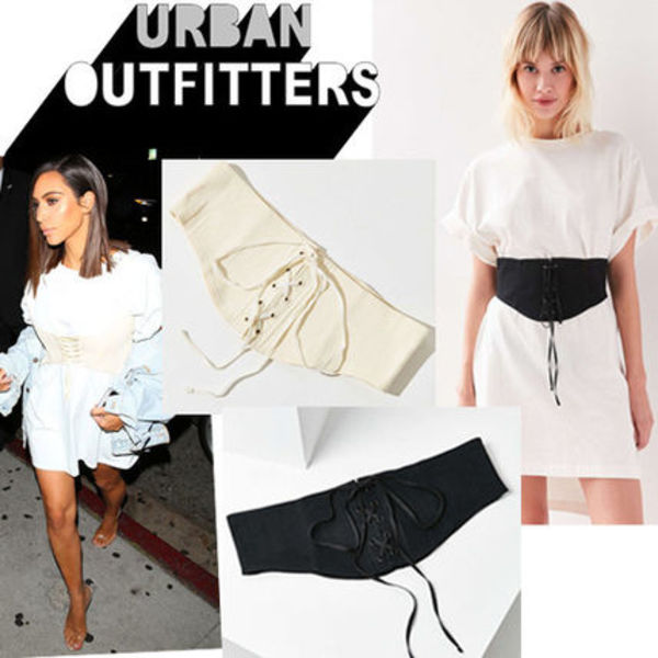 ● Urban Outfitters ● レースアップ コルセット ベルト 2色