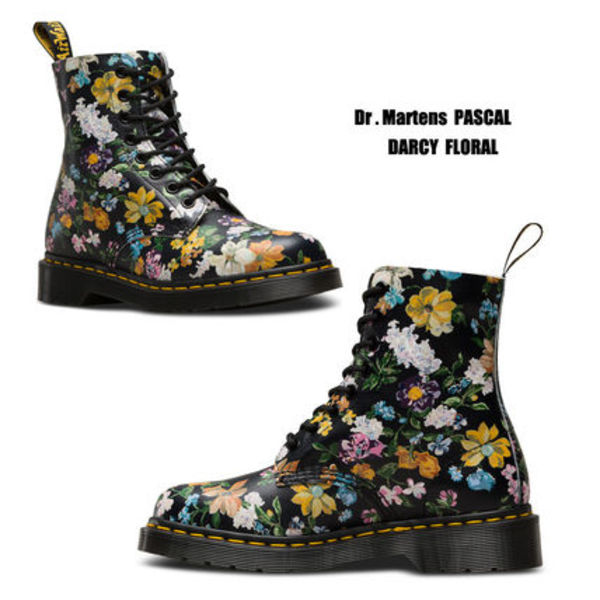 Dr Martens★PASCAL DARCY FLORAL★ブーツ★花柄★ボタニカル