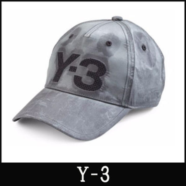 """16-17AW 新作 """"Y-3"""" Logo Embroidered Fade キャップ"""