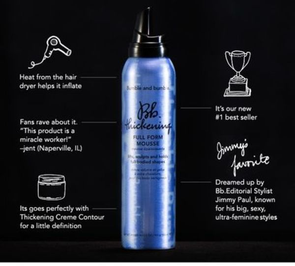 (送料込)Bb. thickening FULL FORM MOUSSE 5 oz.(150ml)