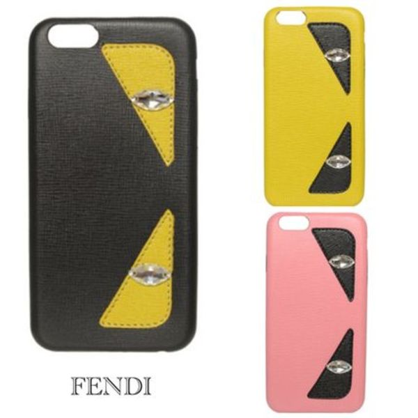 【FENDI】 Leather iPhone 6 Holder 3色