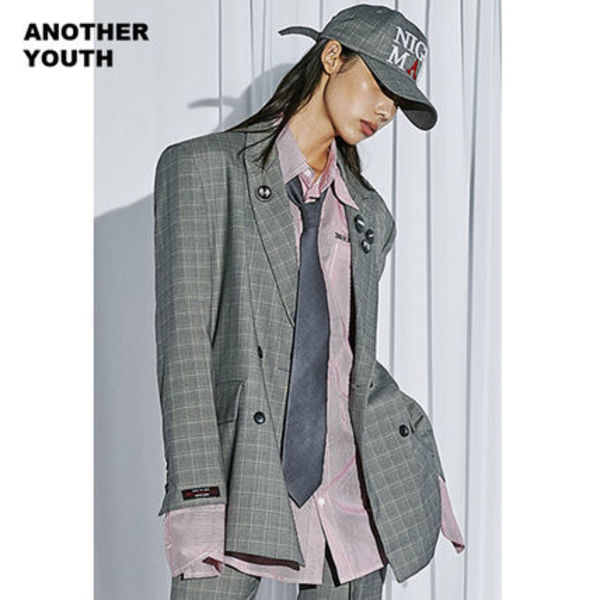 ANOTHERYOUTH正規品★ダブルブレザージャケット★UNISEX