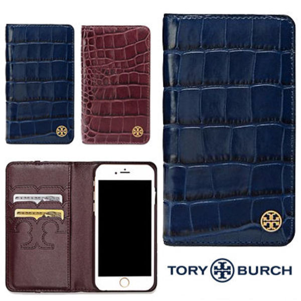【送料込】Tory Burch♡ PARKERCROC FOLIO  IPHONE 7ケース