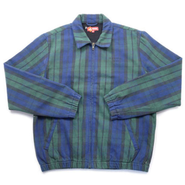 在庫有り★送料込み★Supreme Denim Harrington Green