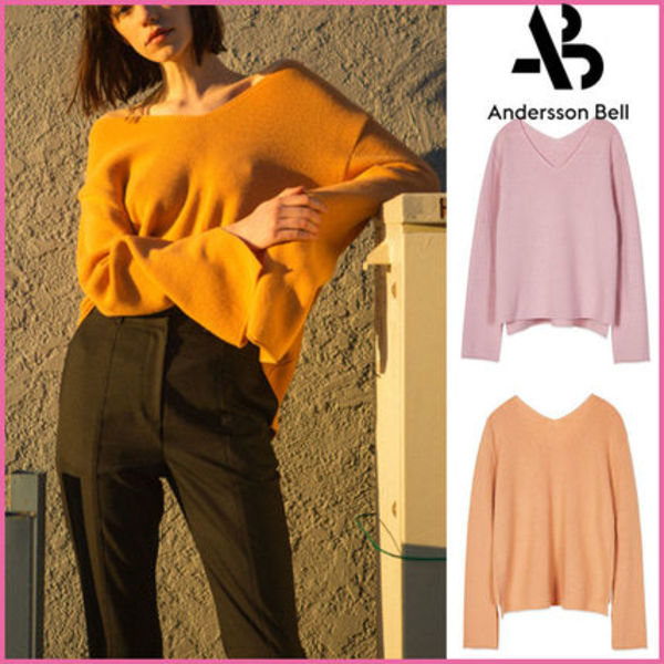 【ANDERSSON BELL】正規品★AMIEカシミアVネックセーター/追跡付