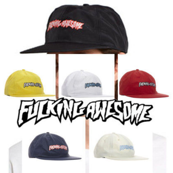 Fucking Awesome☆Outline Logo Hat