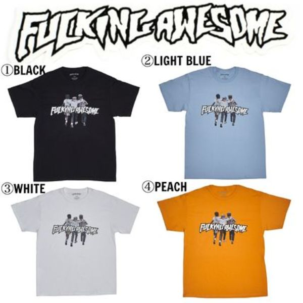 【Fucking Awesome】☆17SS☆国内完売品☆Friends Tee